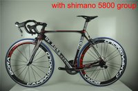 Wholesale Road bike carbon complete bicycle road carbon complete de rosa road bikes with group full carbon complete road bike
