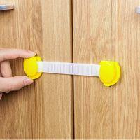 Wholesale 6 Baby Safety Locks Multifunctional Drawer Refrigerator Cabinet Locks Child Safety Lock Children Lock