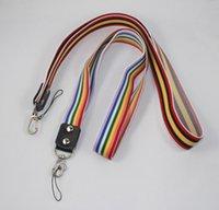 "Cheap Free shipping,Colorful Flexible Cell Phone Strap Elastic Key&Card Lanyard,15.6""L * 0.98""W"