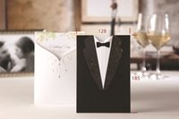 Wholesale Chinese Wedding Invitations Laser Cut Event Party Supplies Blank Bride Wedding Invitations Cards Style ady