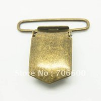 Wholesale Bronze plating Suspender Clip Suspender Clips Suppliers Manufacturers