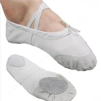 Wholesale Lady Gymnastics Dance Practise Pointe Soft Sole Shoes Girl Fitness Canvas Ballet Slipper