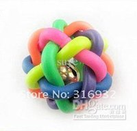 Wholesale Promotion Pet toy Rainbow Balls pet products Pets toys with priceFast shipping
