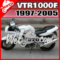 abs unique gift - Welmotocom Aftermarket ABS Fairing For Honda VTR1000F VTR F Unique Design White H17W47 Free Gifts