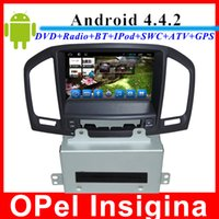 Wholesale 100 android Opel Insignia car dvd player with gps navigation Bluetooth TV G WIFI USB SD din car radio stereo multimedia player
