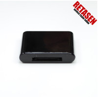 Wholesale wireless bluetooth Music Receiver adapter black for PIN IPod dock speaker for Souddock Version and old Pin dock Speaker