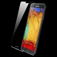 Cheap Newest Tempered Glass Screen Protector Samsung Galaxy Note 3 III N9005 N9006 High Quality Wholesale Support