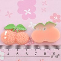 bayberry plant - mm Flat back resin fruit Pink bayberry with leaves DIY home decoration christmas scrapbook