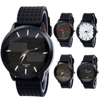 best auto stereo - Best Deal New Fashion Men s Casual Fashion Watch Stereo Surface Silicone Watch Quartz Watch men Wristwatches1pc