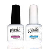 shellac nail polish - Maike MH1496 Shellac Gelishgel Foundation Topcoat Set UV LED Soakoff UV GEl Polish Nail Art ml