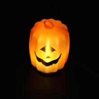 Halloween pumpkin - Carnival Party Halloween Props Bar Supplies Jack O Lantern Pumpkin Pot Barrel Halloween Decoration Night Light