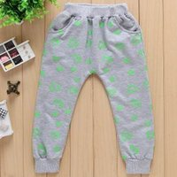 Wholesale New Fashion Loving Cartoon Images Printed Harem Pants Children Leisure C