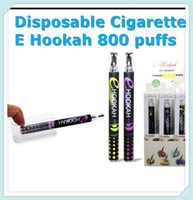 Cheap Disposable Cigarettes E hookah Shisha Pen 800 puffs Metal Tip Crystal Button E hookah E shisha 10 Flavors E Cigarette DHL