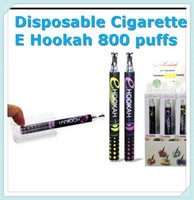 Wholesale Disposable Cigarettes Ehookah Portable E Shisha Pen puffs Metal Tip Crystal Button E hookah E shisha Flavor E Cig E Cigarette DHL