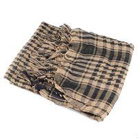 arafat scarves - Arabic Arab Arafat Scarves Men Winter Military Windproof Scarf Thin Muslim Hijab Shemagh Tactical Military Scarf Desert