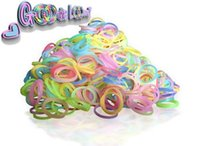 loom bands - Best Quality Rainbow Loom Bands Jelly Glow in the dark Rubber Bands Loom Band Wrist Bracelet bands clips hook Kids Toys