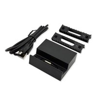 charger dock station stand - Magnetic Charging Dock Station Cradle Stand Charger Holder For Sony Xperia Z1 L39h New Black Portable