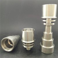 Wholesale Factory Directly Sell E Dab Nail in Domeless Titanium Nail Enail fit mm mm Heater Coil Dnails Dab