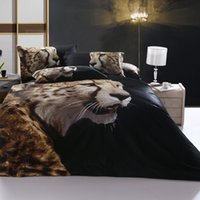 bed-in-a-bag king size - 2015 D Bedding Set Cotton Bed in a Bag King Size Bed Sheet Pillow Case Duvet Cover Set Leopard