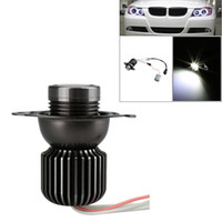 Cheap 2Pcs 10W LED Angel Eye Halo Ring Marker Light Bulb for BMW 330i 325i E90 SEDAN E91 WAGON White Car Light Source K3404