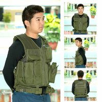 Wholesale HIgh Quality Durable Army War Game Hunting Military Protective Training Combat Polyester Assault Military Vest Tactical Vest
