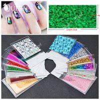 beauty craft supply - 50Designs Symphony Nail Foil Sticker Star Style Art Polish Transfer Decal DIY Beauty Craft Nail Decorations Supplies