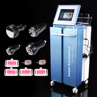 Wholesale 2015 New Pro nm LLLT Lipo laser Cavitation Vacuum Liposuction Radio Frequency Weight Loss beauty equipment Laser RF Slimming Machine