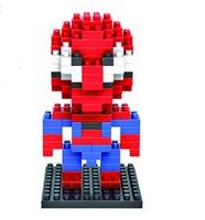 achat en gros de très bons jouets de qualité-Grosses soldes! Jouets éducatifs de très bonne qualité en plastique ABS DIY Building Blocks Jouets LOZ 9154 Batman enfants !! jouets pour bébés YH035
