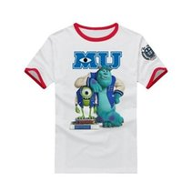 big mike - boys and girl Monster university sulley mike new short sleeve t shirt monster Inc big size t shirts NEW FASHIOIN styles S XXXL