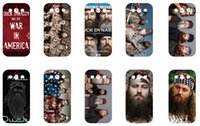 Wholesale Protective shell case for Samsung Galaxy S3 new duck dynasty series