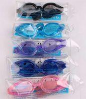 Wholesale 10pcs Swimming Goggles Boys Girls Diving Glasses with Earplug Swim Eyewear