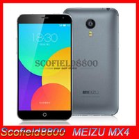 Wholesale Original Meizu MX4 MTK6595 true Octa Core G FDD LTE GB Ram GB GB ROM flyme4 Android kitkat MP camera quot FHD Corning gorilla