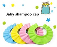 Wholesale Baby Shampoo Caps Shower Bath Protection Eyes Soft Caps Baby Hats For Kids years dhl