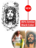 bible body - Similar Leo Messi Black Body Art Waterproof Temporary Tattoo Stickers Bible Jesus Believer Faith tattoo God tattoo AX149