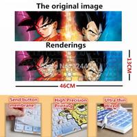 animation laptops - Animation Dragon Ball Z Son Goku Kakarotto Vegeta fashion computer keyboard