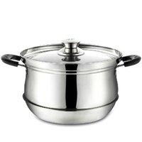 al por mayor pote q-pote al por mayor-inoxidable 27 * 26 * 19.5cm cocinar preservación del calor crisol de múltiples funciones Stock bandeja de ahorro de olla de cocción herramienta Q-166