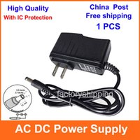 12v dc adaptor - High Quality With IC Program AC V V Converter Adapter DC V V V A Power Supply V A Adaptor US Plug to USA