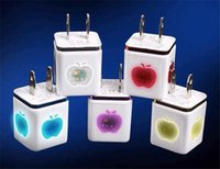 Cheap Multi Color Dual Usb Charger 2.1A EU US Plug Iphone 5 Charger USB Wall Charger Chargers For Iphone 5 5s 6 Ipad Samsung S3 S4 S5 Note 2 3