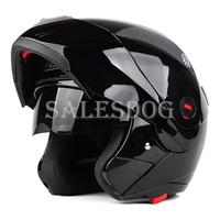 best selling motorcycle helmets - Best Selling Safe Flip Up Motorcycle Helmet With Inner Sun Visor Double Lens Helmet Sun resistant Motocross Motorbike Helmets