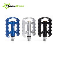 Wholesale Professional Cycling Sealed Bearing Pedals Bike Cycle MTB BMX Pedals quot Bicycle Mountain Flat Platform Pedals