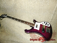 Wholesale New Arrival Purple Strings Rick Electric Bass Musical instruments