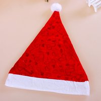 Wholesale M6 Obscure Christmas hats love hat love money indentation Heart Christmas gifts