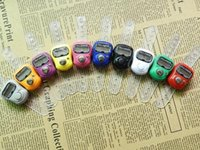 Wholesale Mini Muslim Finger Ring Tally Counter Digital Tasbeeh Tasbih For Golf Temple Assorted Color DHL