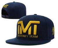 active navy ships - navy dark blue TMT the money team snapback hip hop hats hiphop street caps snapbacks hats baseball caps TY