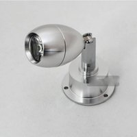 adjustable wall mirror - Fashion LED Spotlight W Bed Beside Porch Wall Light Aluminium Wardrobe Background Light Mirror Lamp With Switch Adjustable