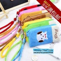 Coin Purses avatar wallet - Free ship pc Cartoon avatar plush cell phone package super popular baby cartoon coin wallet purse bag order lt no tracking