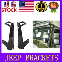 jeep wrangler - Jeep Mounting Brackets for Led Light Bar for jeep grand Cherokee SUV Offroad Jeep Wrangler JK Brackets