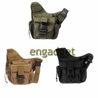 Wholesale Waterproof Nylon Men Women Sport Molle Tactical Shoulder Strap Bag Pouch Travel Backpack Camera Cross Body Military Bag