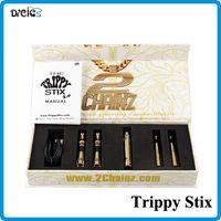 electronic cigarette oil - 2015 Luxury Trippy Stix Kit dry herb wax oil vaporizer pens dry herb Vaporizer IN Kit Wax Dry Herb Vaporizer pen Electronic Cigarette
