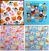 Wholesale 34 New Coming Tsum Tsum Cotton kerchief hand towel many designs mix sent